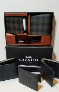 Men's Coach wallets